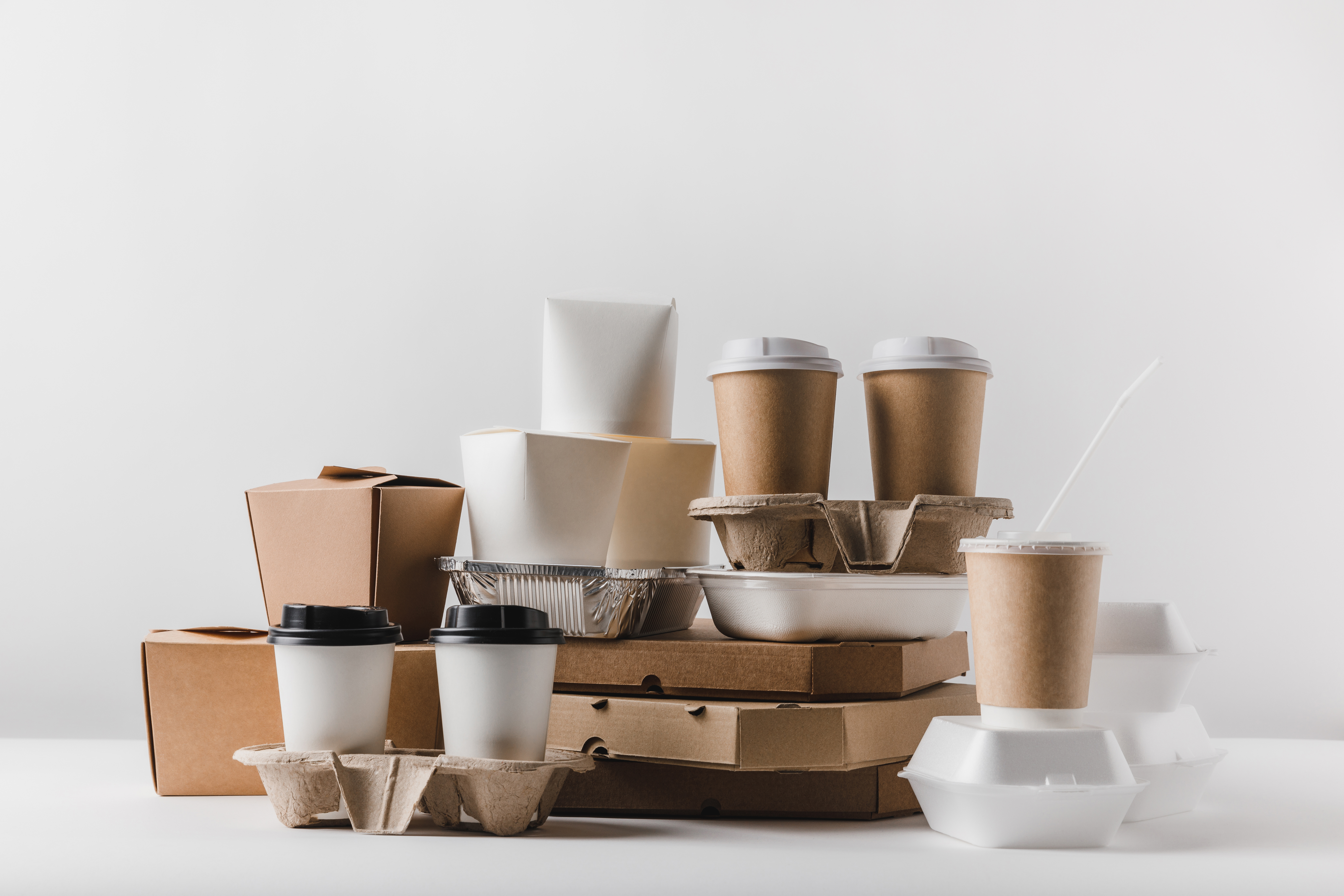 Sustainable and safe food packaging with biodegradable water