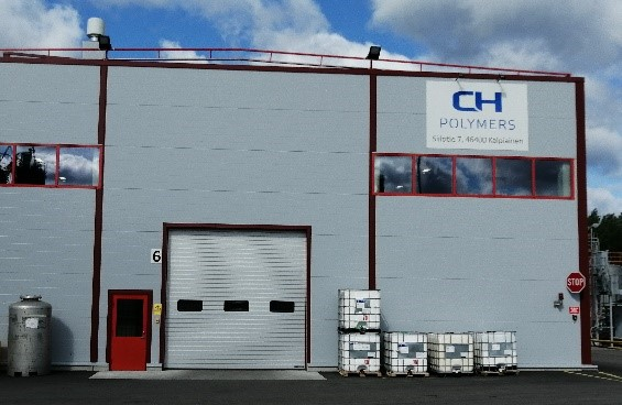 CH-Polymers IBC warehouse building